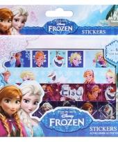 Stickervellen 4 stuks van frozen