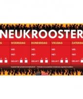 Sticky devil stickers tekst neukrooster per week