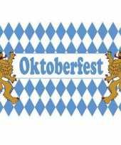 Stoffen oktoberfest vlag 90x150 cm