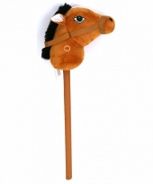 Stokpaarden bruin met geluid 68 cm