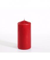 Stompkaars rood 10 cm hoog