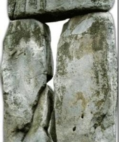 Stonehenge decoratie bord