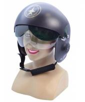 Straaljager piloot helm