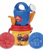 Strand speelgoedset brandweerman sam 6 delig