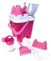 Strand speelgoedset kasteel roze