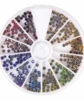 Strass steentjes gekleurd per 360 stuks
