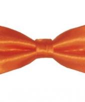 Strikje oranje gekleurd