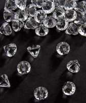 Strooi diamantjes transparant 12 mm 10131549