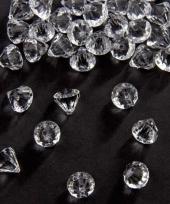 Strooi diamantjes transparant 12 mm