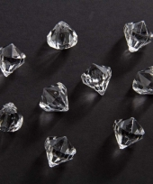 Strooi diamantjes transparant 20 mm