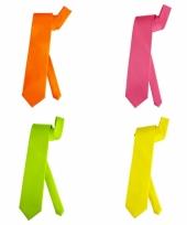 Stropdassen in felle kleuren