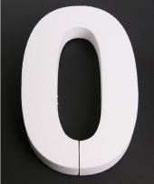 Styropor cijfer 0