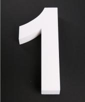 Styropor cijfer 1