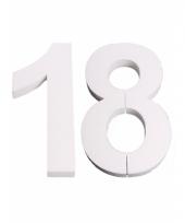 Styropor cijfer 18