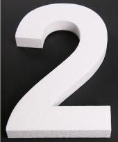 Styropor cijfer 2