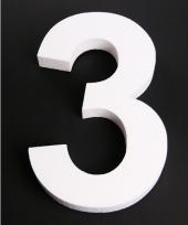 Styropor cijfer 3
