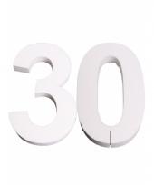Styropor cijfer 30