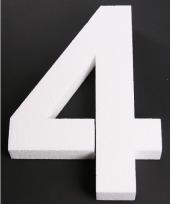 Styropor cijfer 4