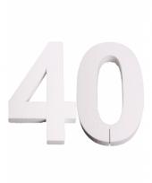Styropor cijfer 40