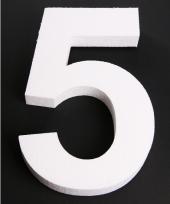 Styropor cijfer 5