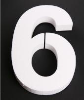 Styropor cijfer 6
