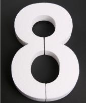 Styropor cijfer 8