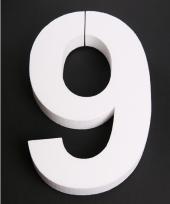 Styropor cijfer 9