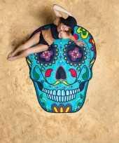 Sugar skull strandhanddoeken 150 cm