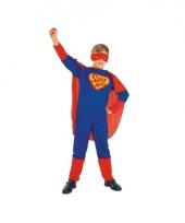 Super man verkleedkostuum voor kinderen