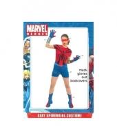 Superheld kostuum voor dames