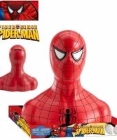 Superheld spiderman spaarpot met snoep