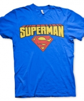 Superman kleding heren t-shirt 10056794