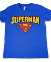 Superman kleding kinder t-shirt