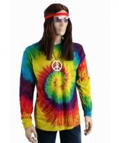 T shirt alternatieve print regenboog