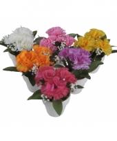 Tafel bloemetje anjers 11 cm