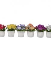 Tafel bloemetje viooltjes 7 cm