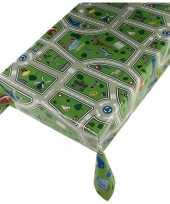 Tafellaken kinder speel kleed verkeer motief 140 x 240 cm
