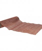 Tafelloper met bruine steentjes