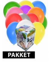 Tankje incl 200 gekleurde ballonnen