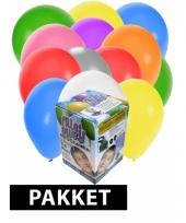 Tankje incl 50 gekleurde ballonnen
