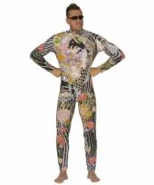 Tatoeage kostuum voor heren