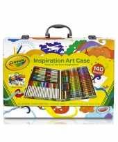 Tekenkoffer 150 delig voor kids