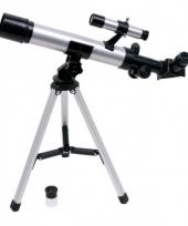 Telescoop met staties en lenzen