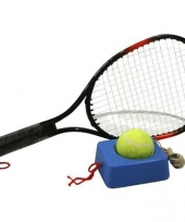 Tennis trainer met 4 meter touw racket