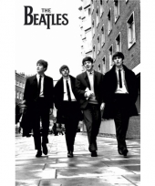 The beatles zwart wit poster 91 5 cm