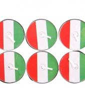 Theelichtjes rood wit groen