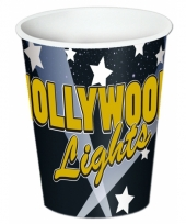 Thema bekers hollywood 8 stuks