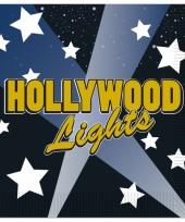 Thema servetten hollywood16 stuks