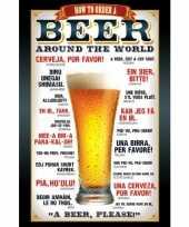 Themafeest bier poster 61 x 91 5 cm 10063255