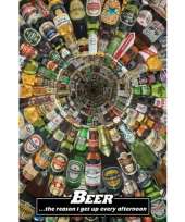 Themafeest bier poster 61 x 91 5 cm